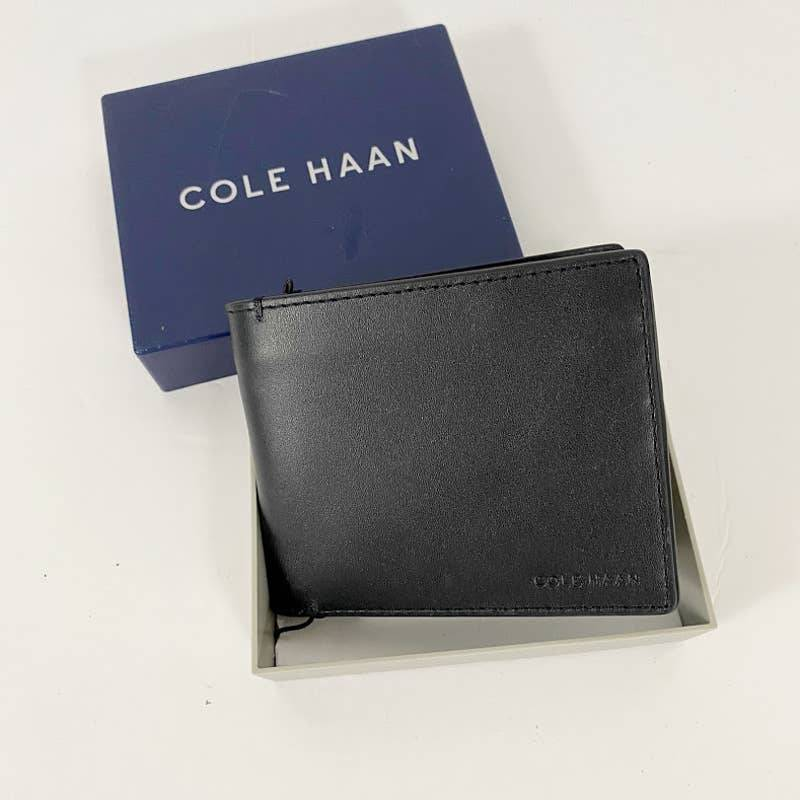 Men's Cole Haan Black Billfold Wallet