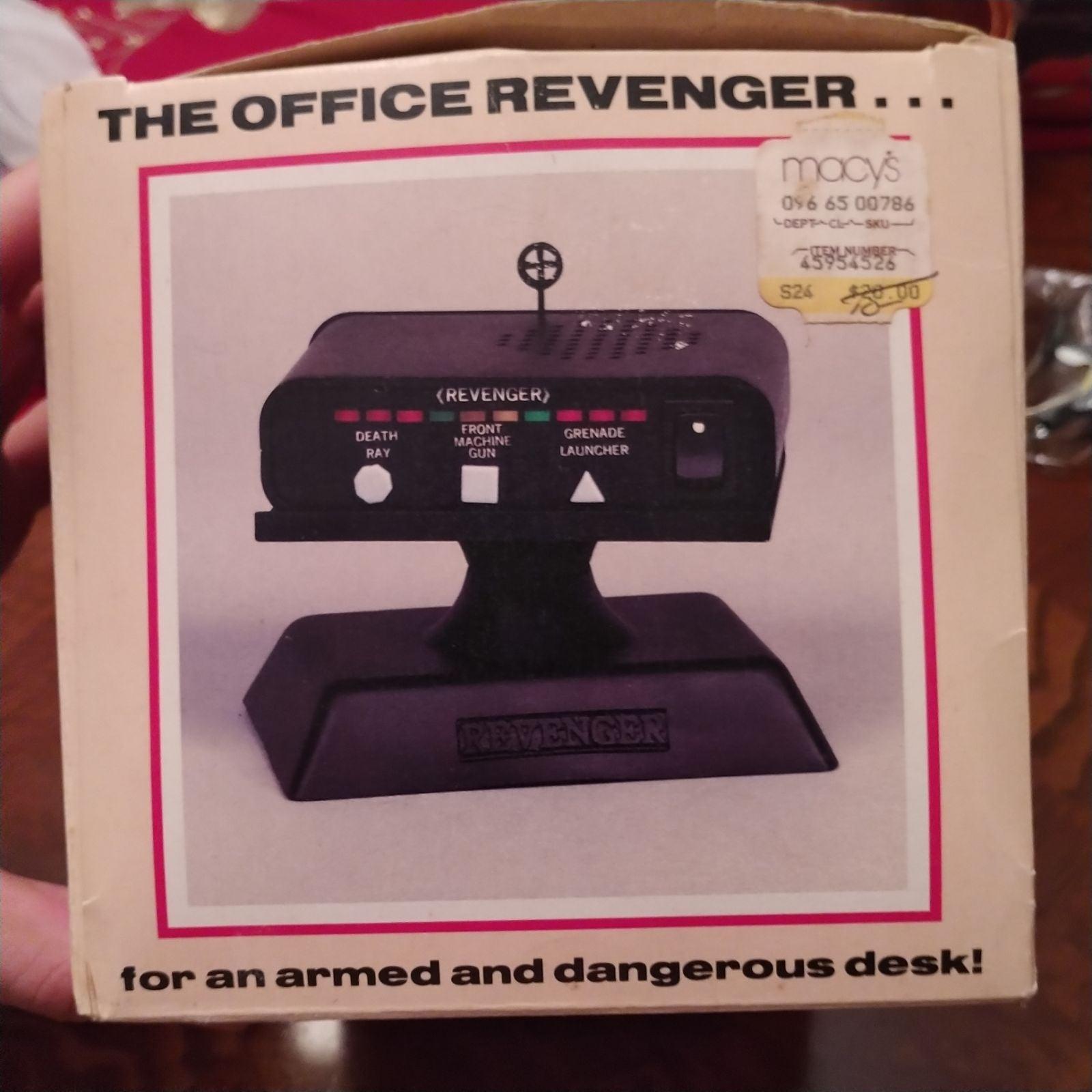 *Boxed* 'The Revenger' Rare 1987 Dashboa