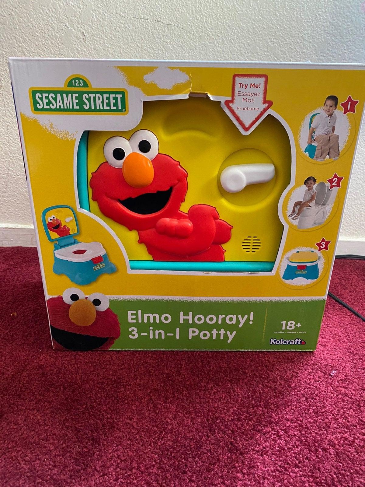 Elmo potty train 3-in-1