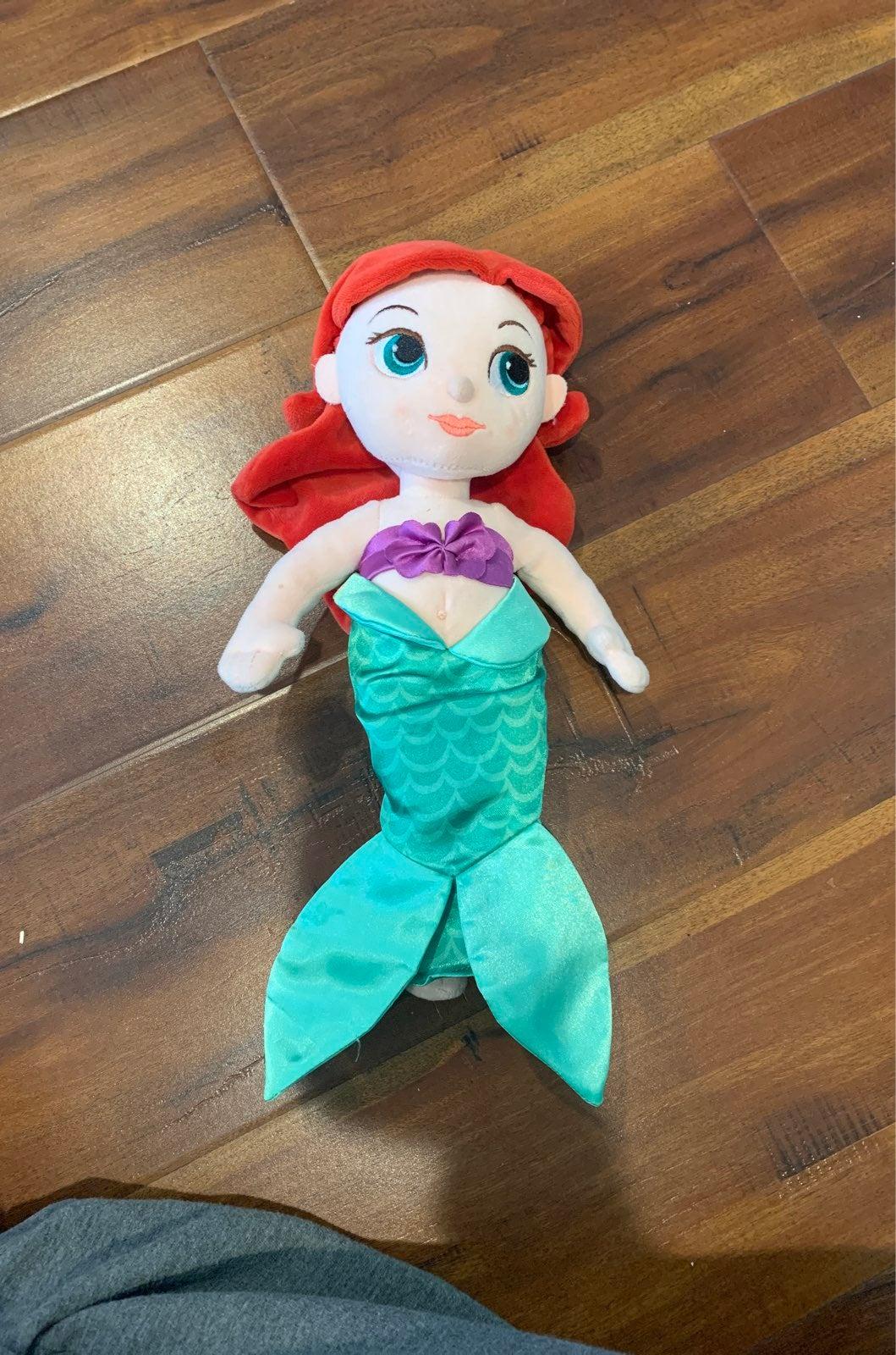 Disney Store Ariel Plush Doll
