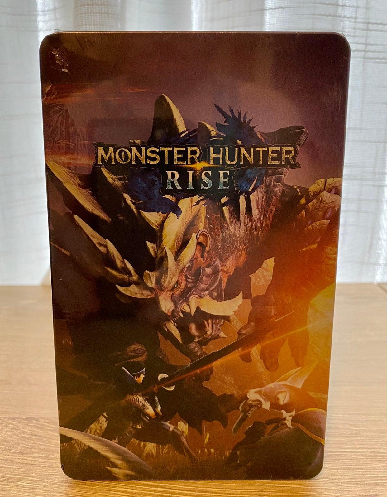 Monster Hunter Rise Steelbook Case