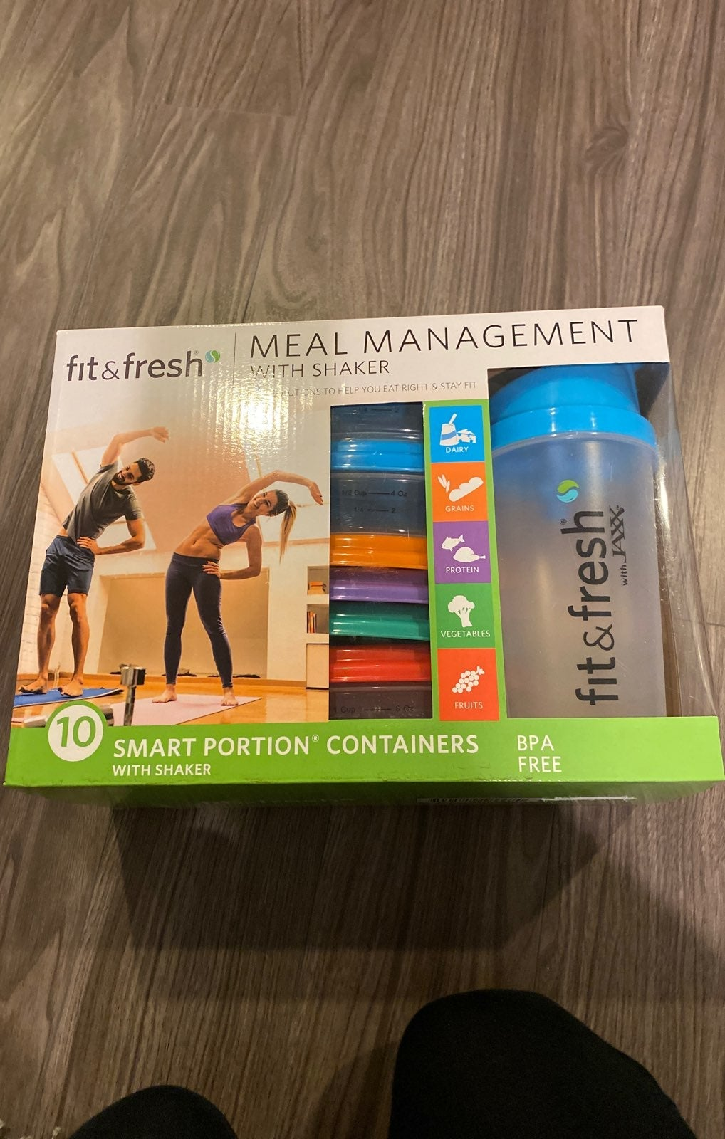 Fit & Fresh- Meal Management with shaker