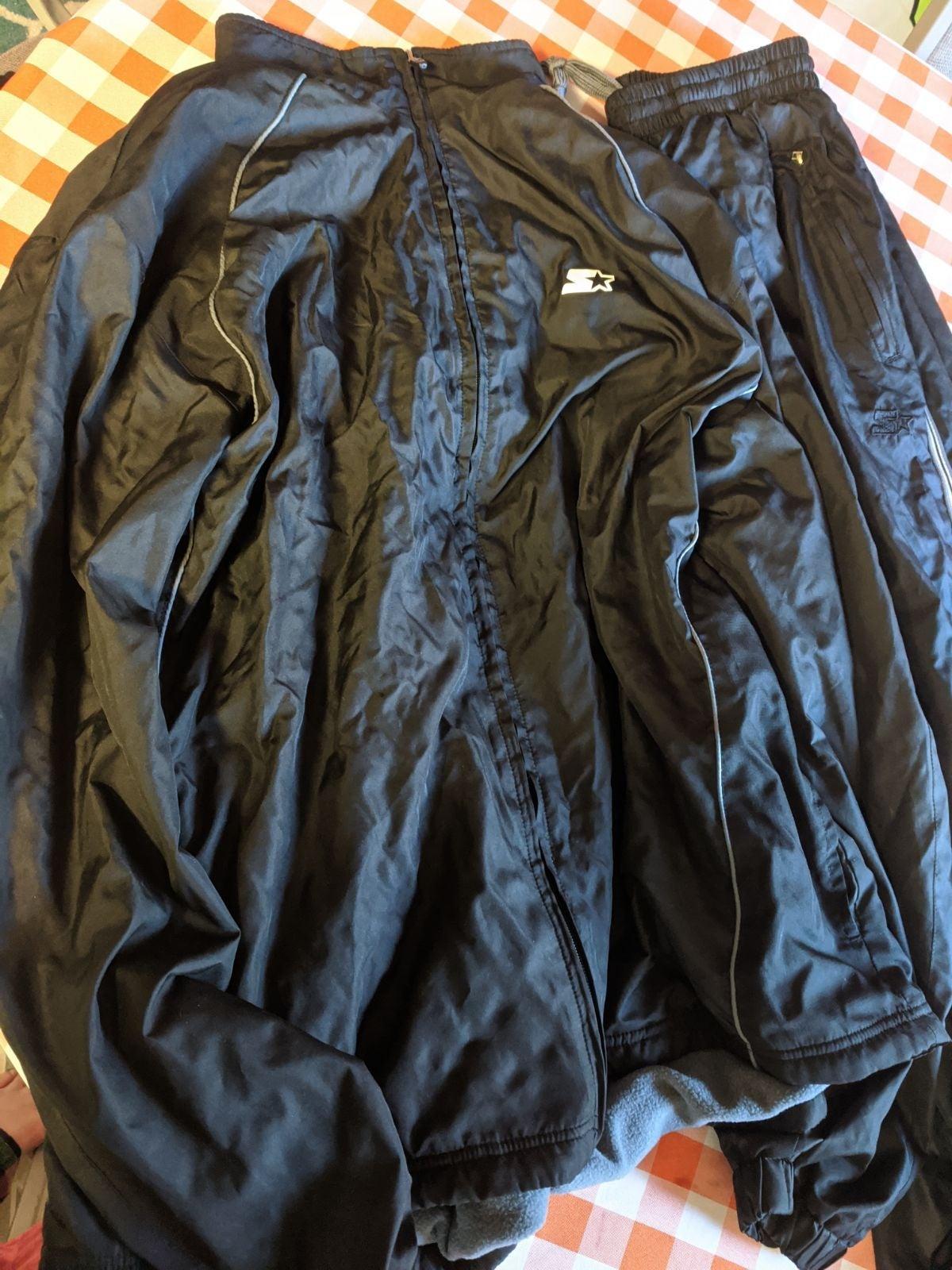 Men's Starter Jogging Jacket Pants Set
