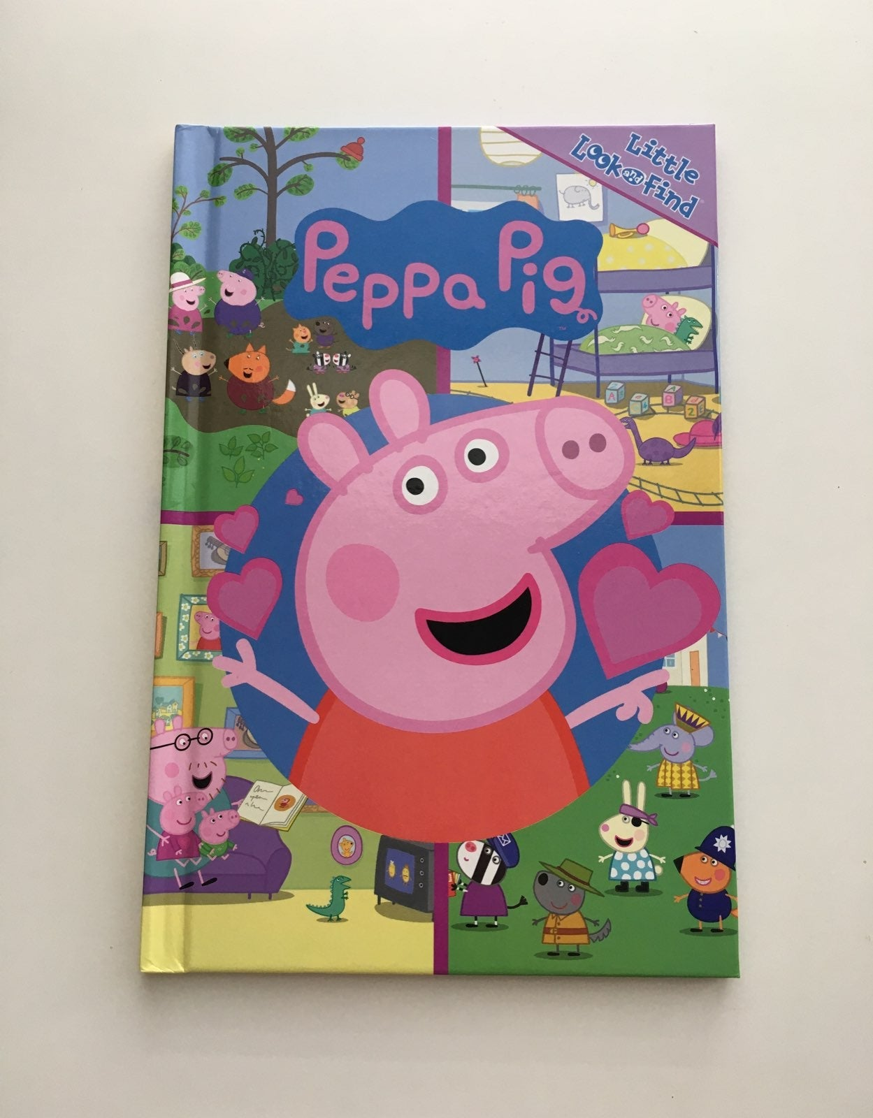 Peppa Pig Hard cover book