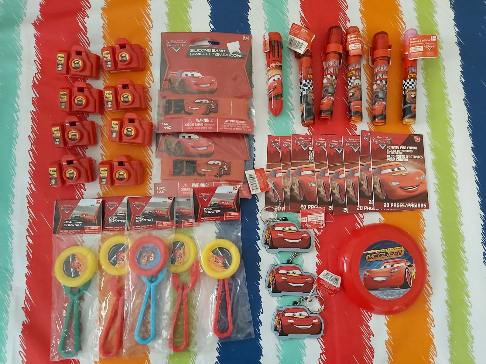 Disney Cars party favors toys gift