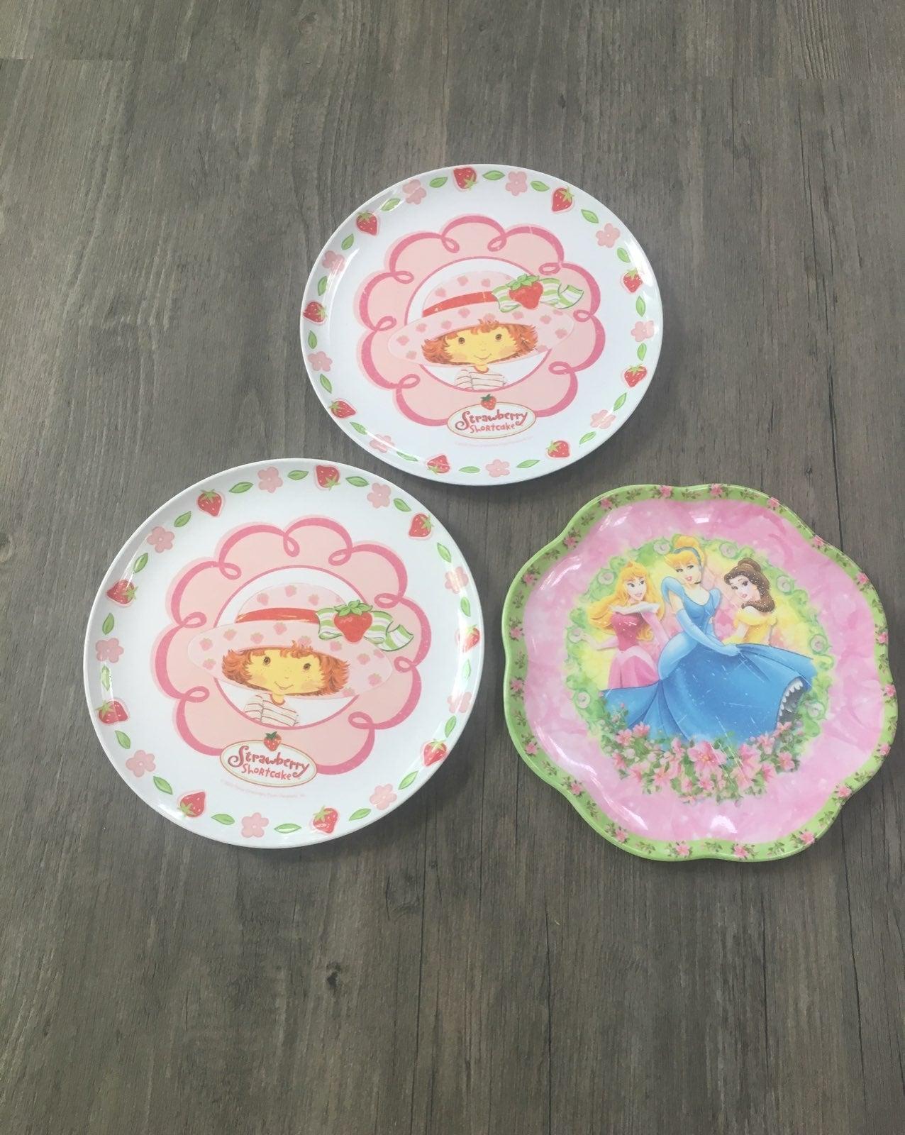 Strawberry Shortcake/Princess Plate Bund