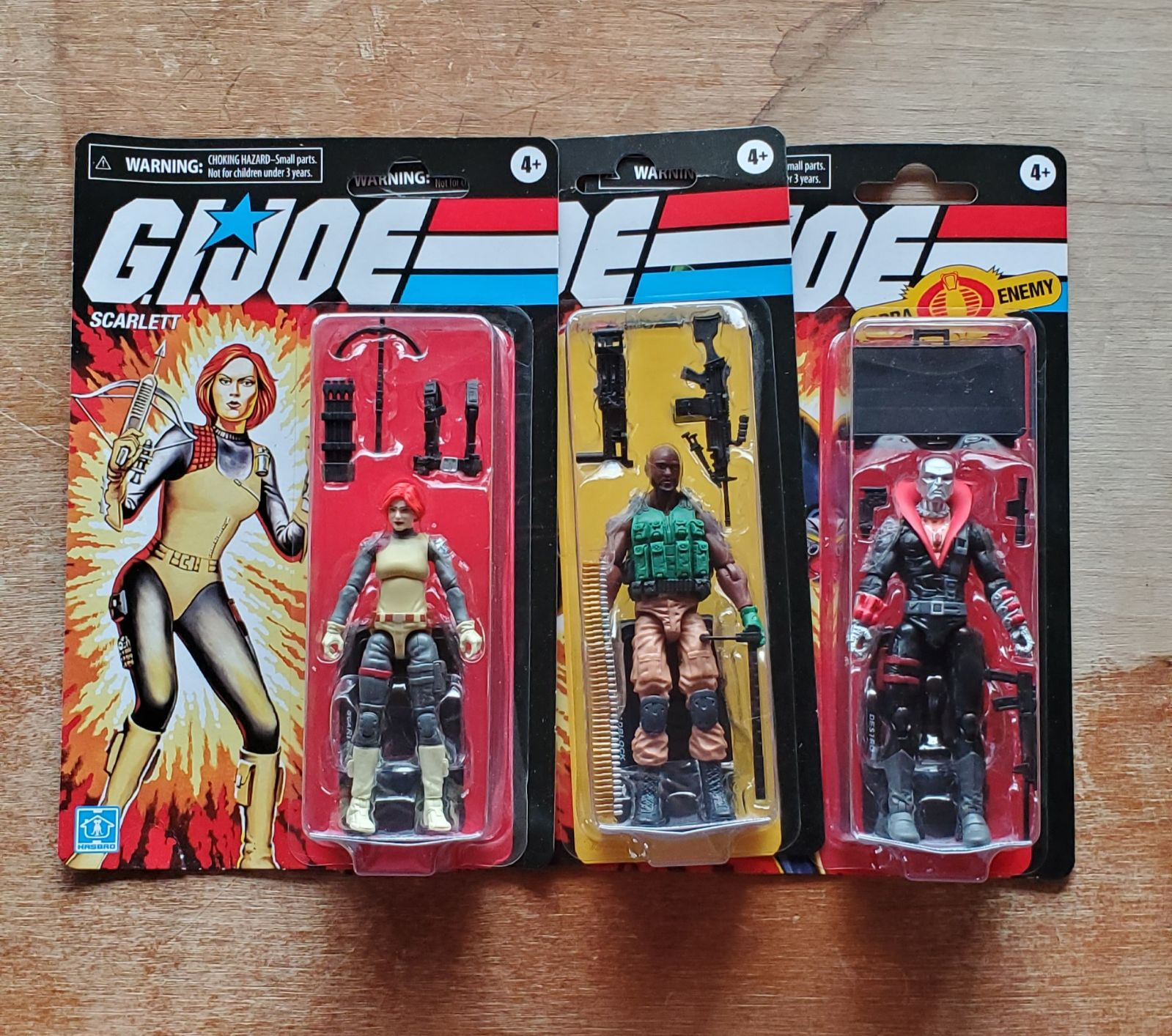 G.I Joe Retro Wave 2 Action Figures
