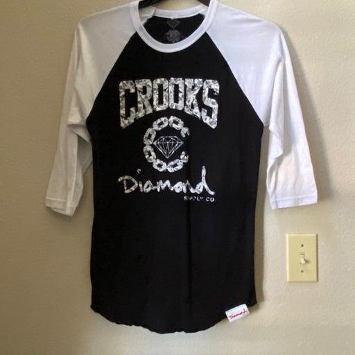 Crooks & Diamonds Baseball Jersey