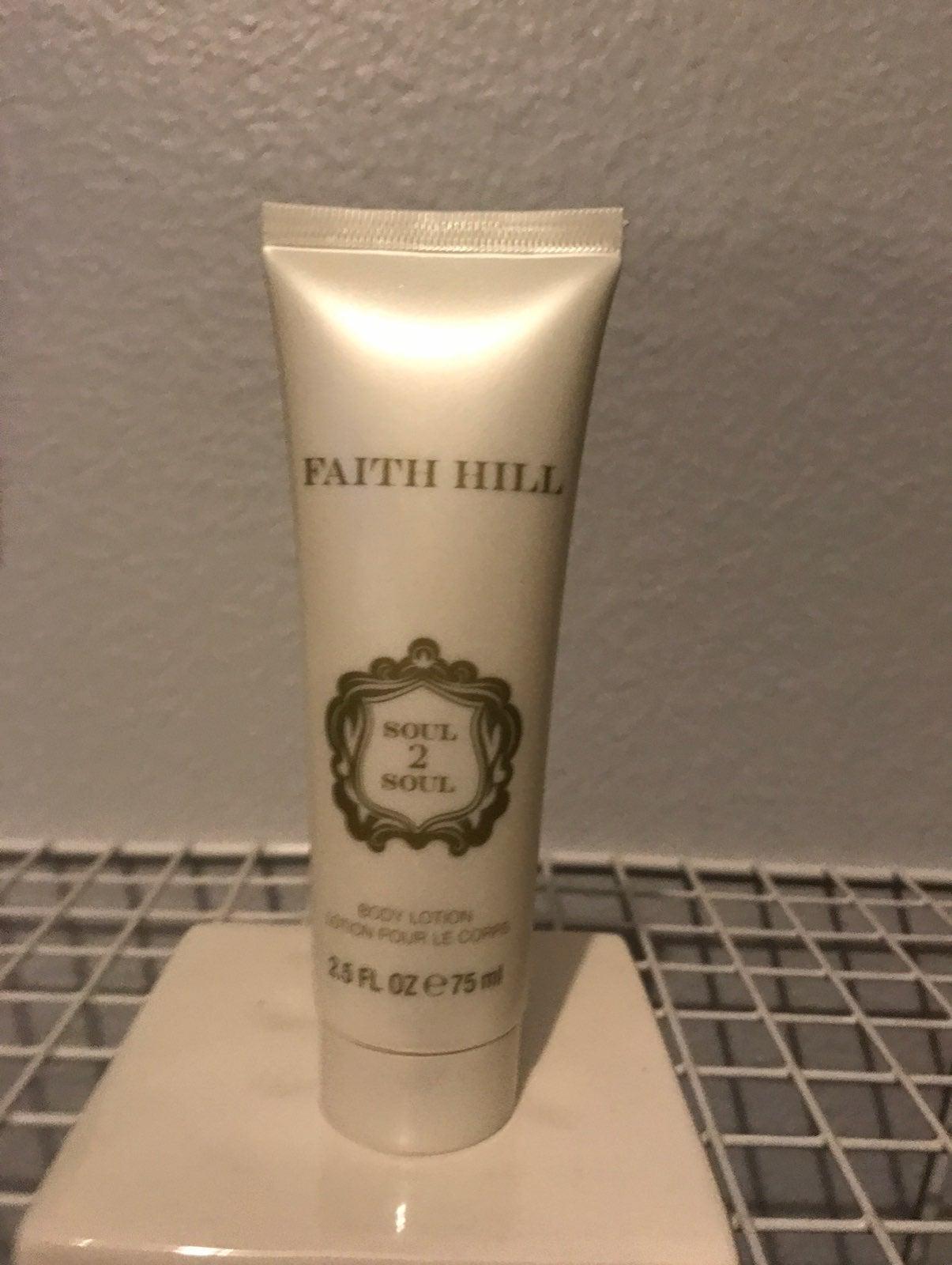 Faith hill body lotion