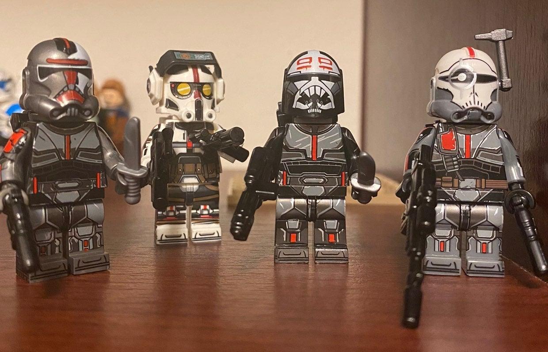 Starwars Bad Batch custom print clones
