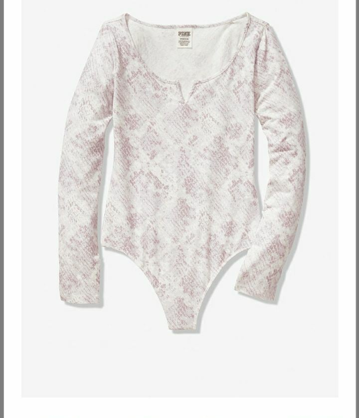 Victoria's secret pink bodysuit S
