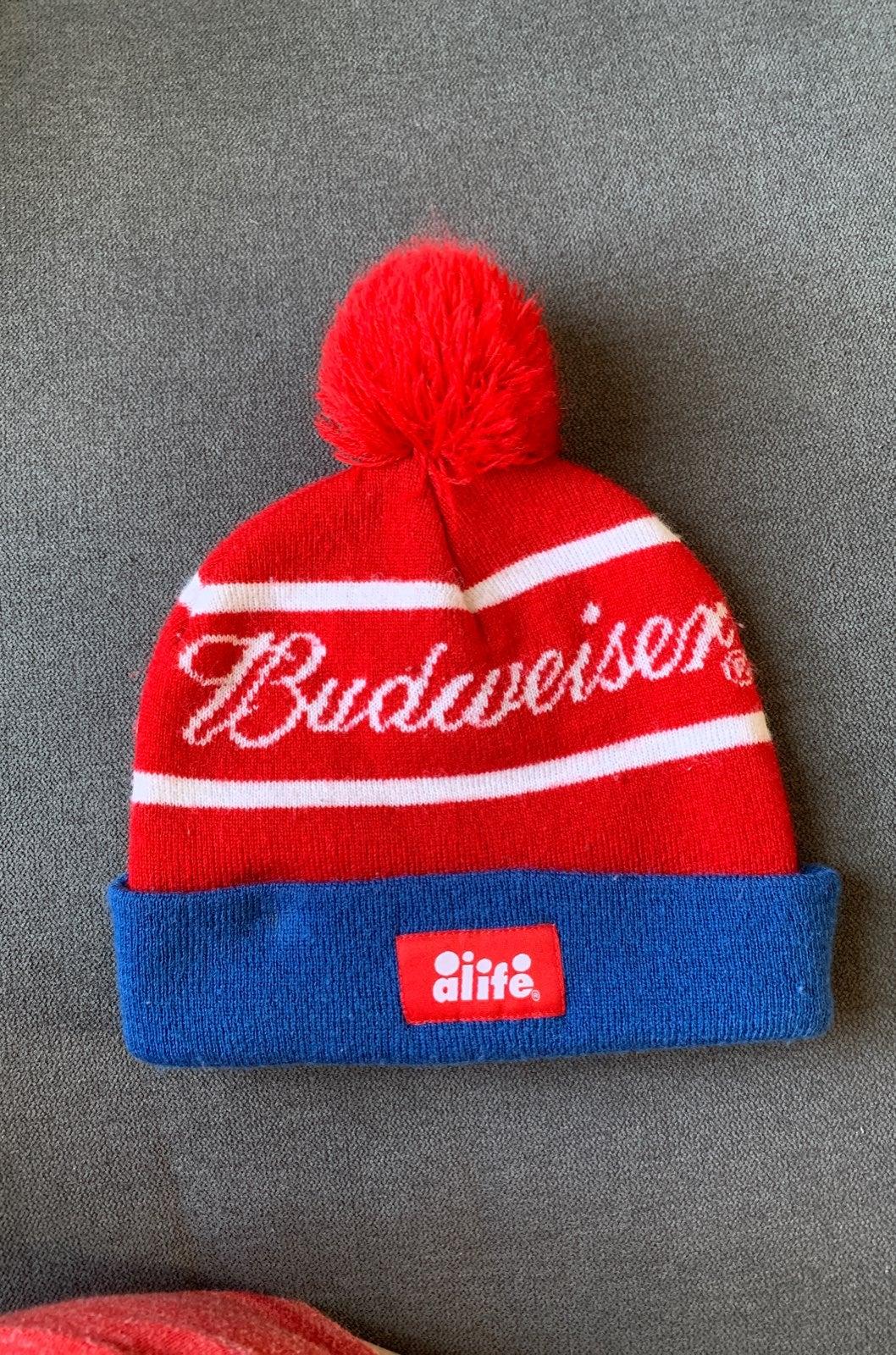Alife Budweiser beanie winter hat
