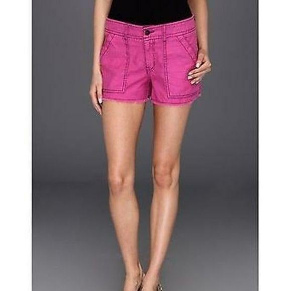 Free People Bright Purple Cut Off Shorts
