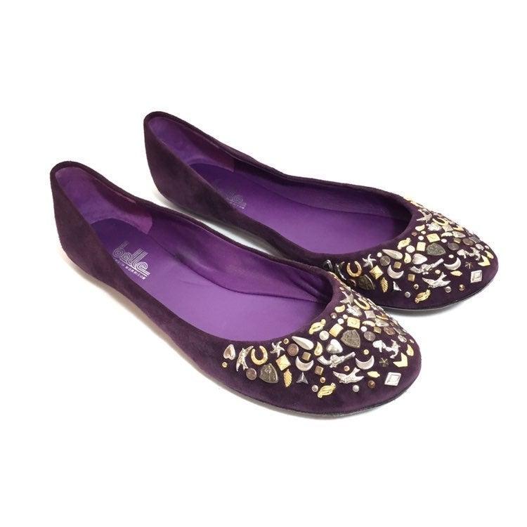 Belle by Sigerson Morrison Purple Flats