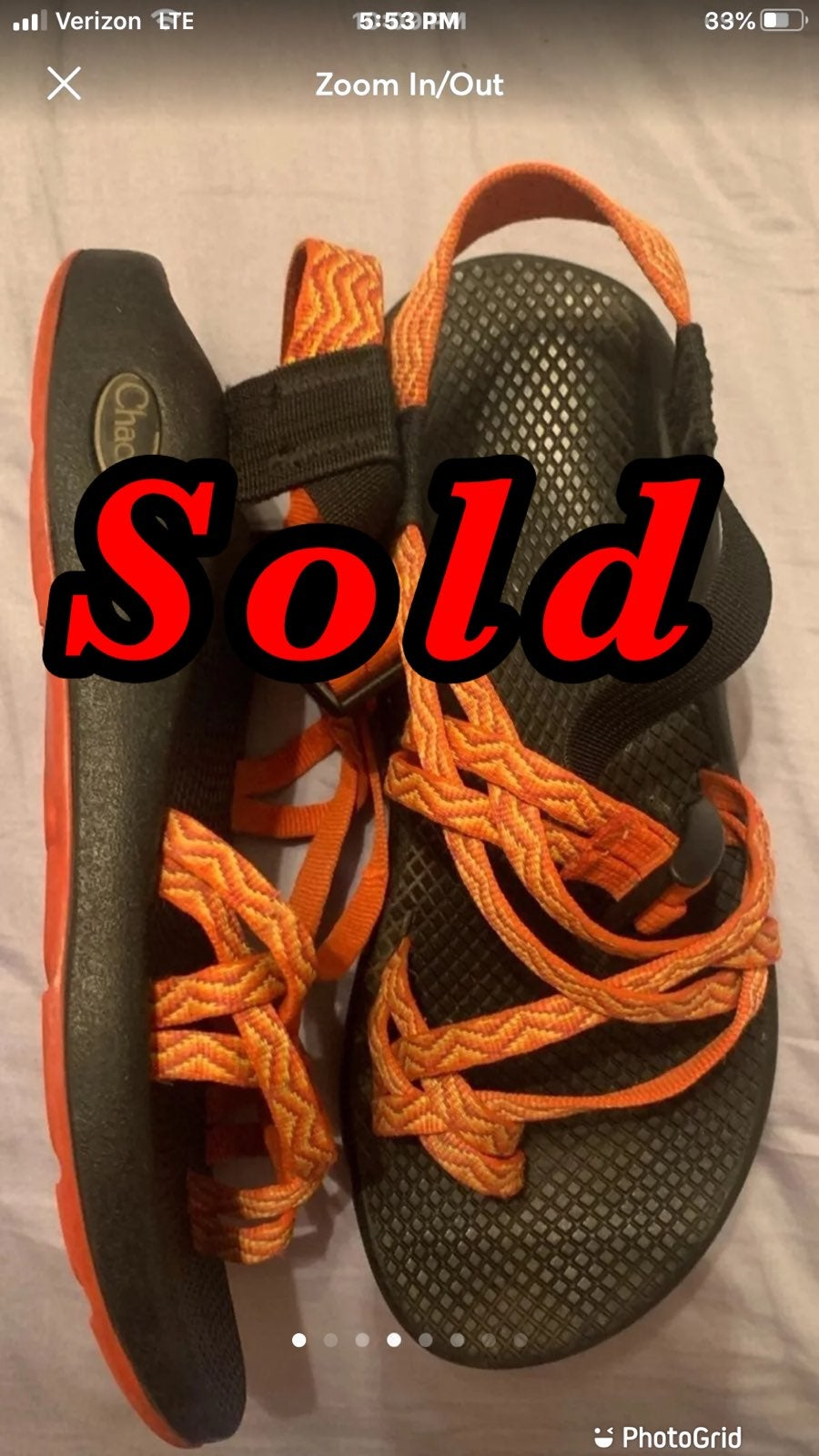 womens vibram chacos sandals Size 6
