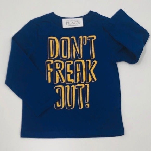 Children's Place Long Sleeve Tee Blue 3T