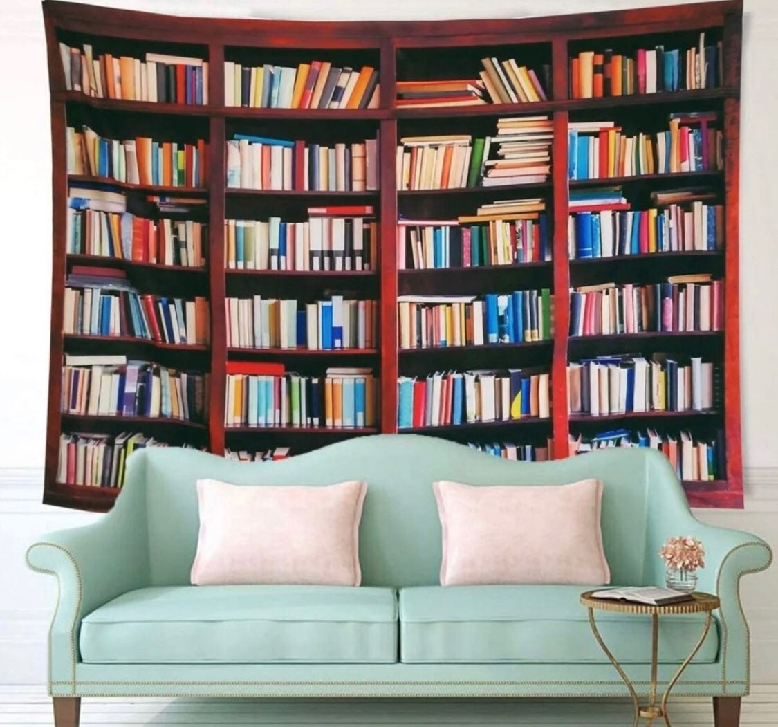My Book Collection - Tapestry