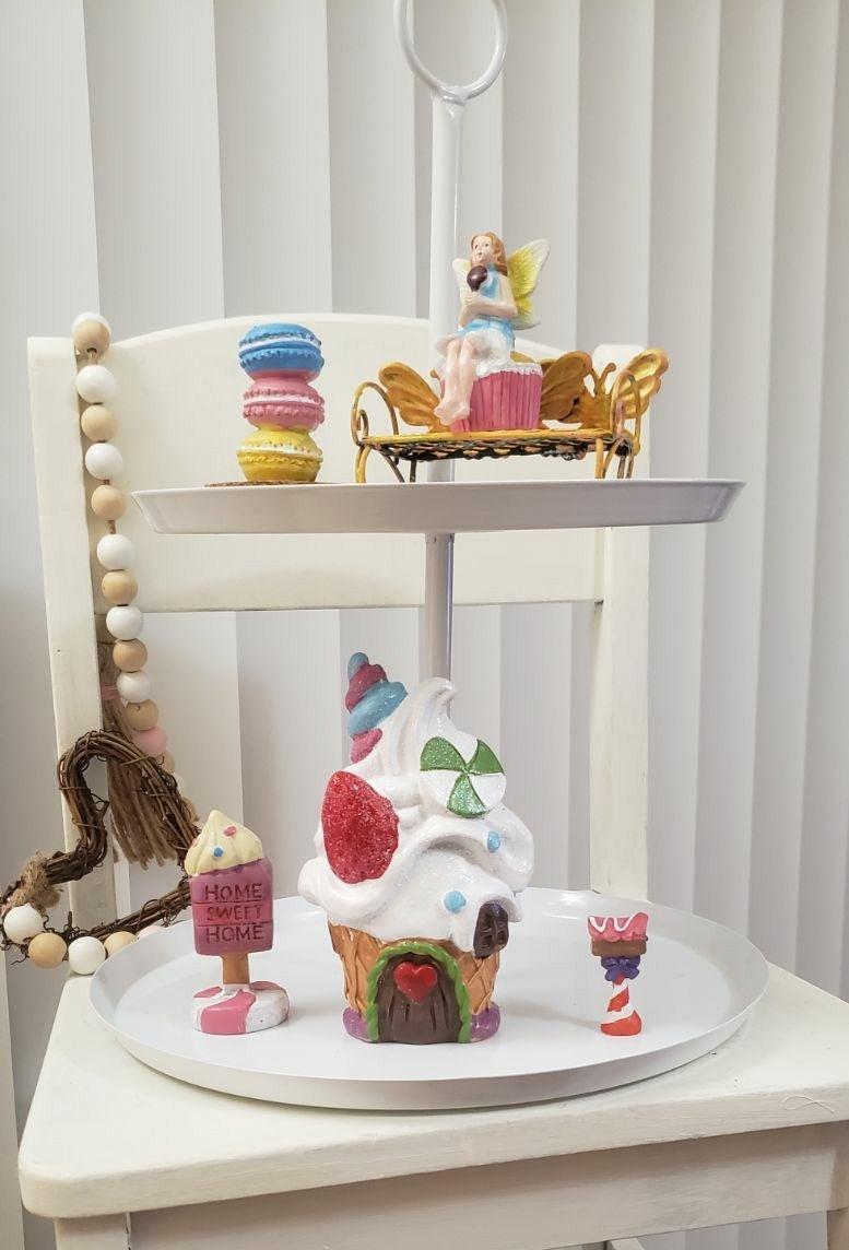 Fairy Garden ceramic set