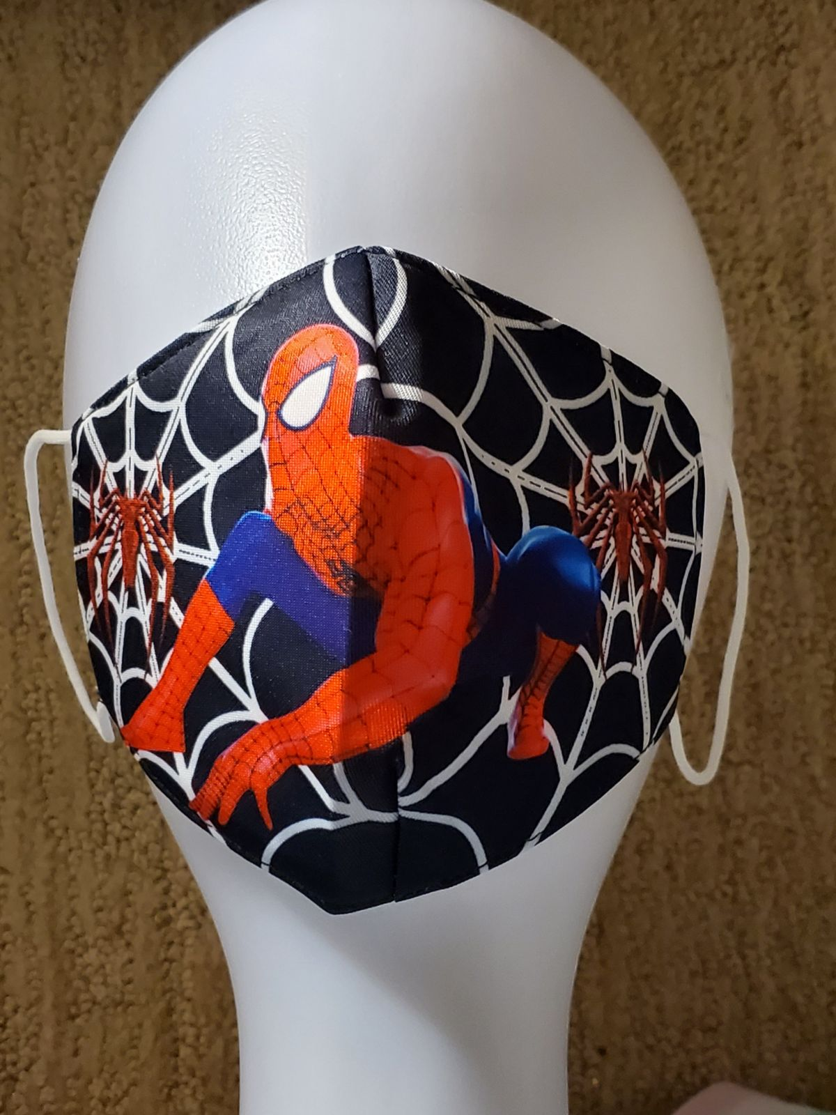 Spiderman Children's Mask in Black