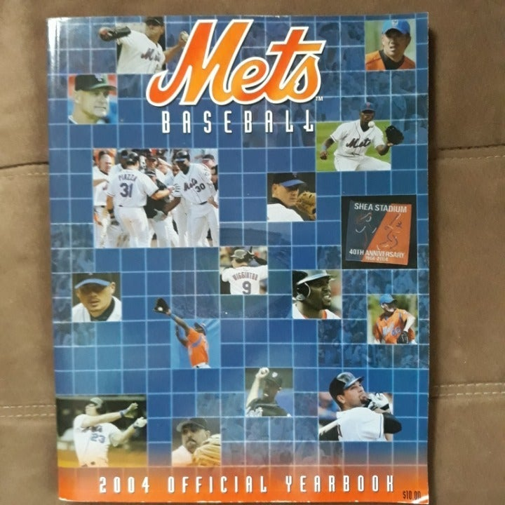 2004 Offical NY Mets yearbook
