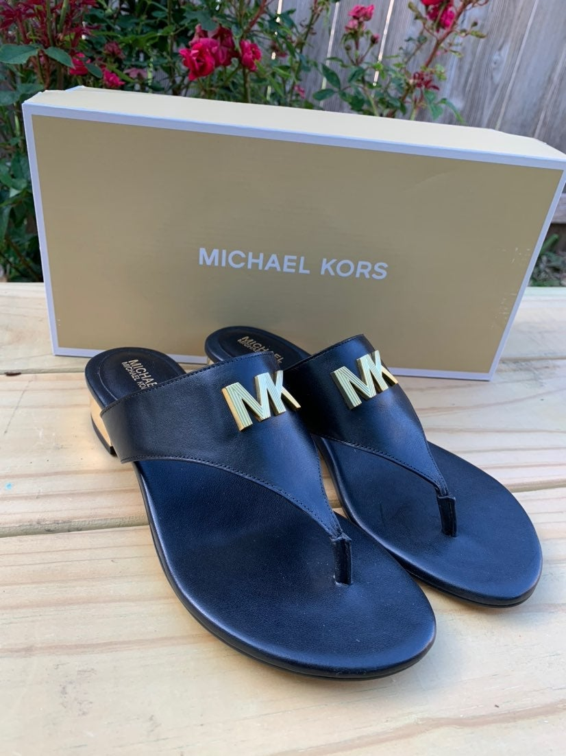 Michael Kors Deanna Thong Leather