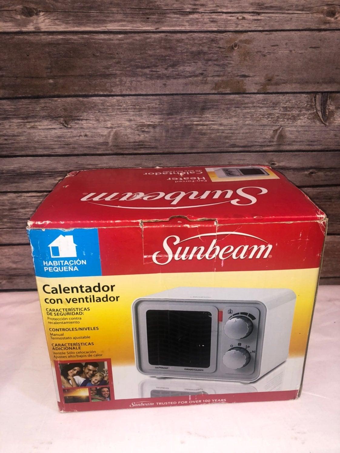 Sunbeam  Retro Radio Heater Fan