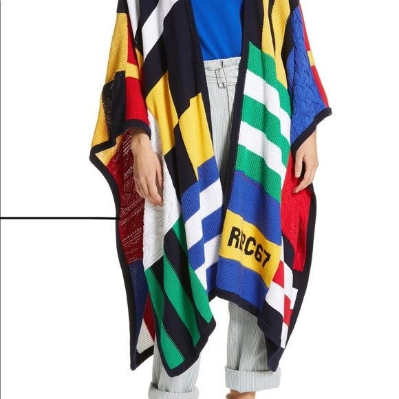 Polo Ralph Lauren SIGNAL FLAG RUANA, Han