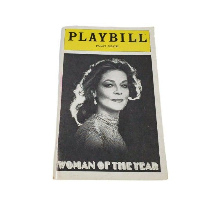 Vintage Playbill April 1981 Woman