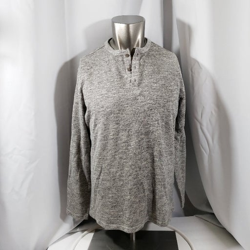 Five Four Long Sleeve Henley  Size L
