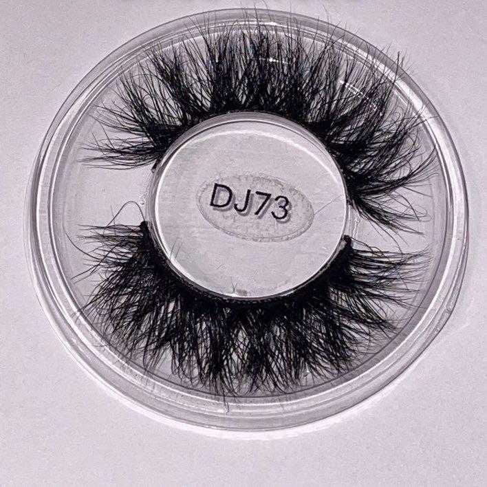 Mink eye lashes 3D - 15-18mm CrissCut 73