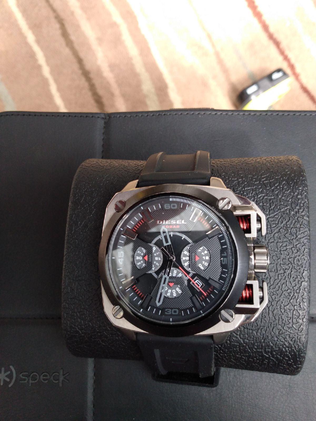 diesel watch 10 Bar military grade