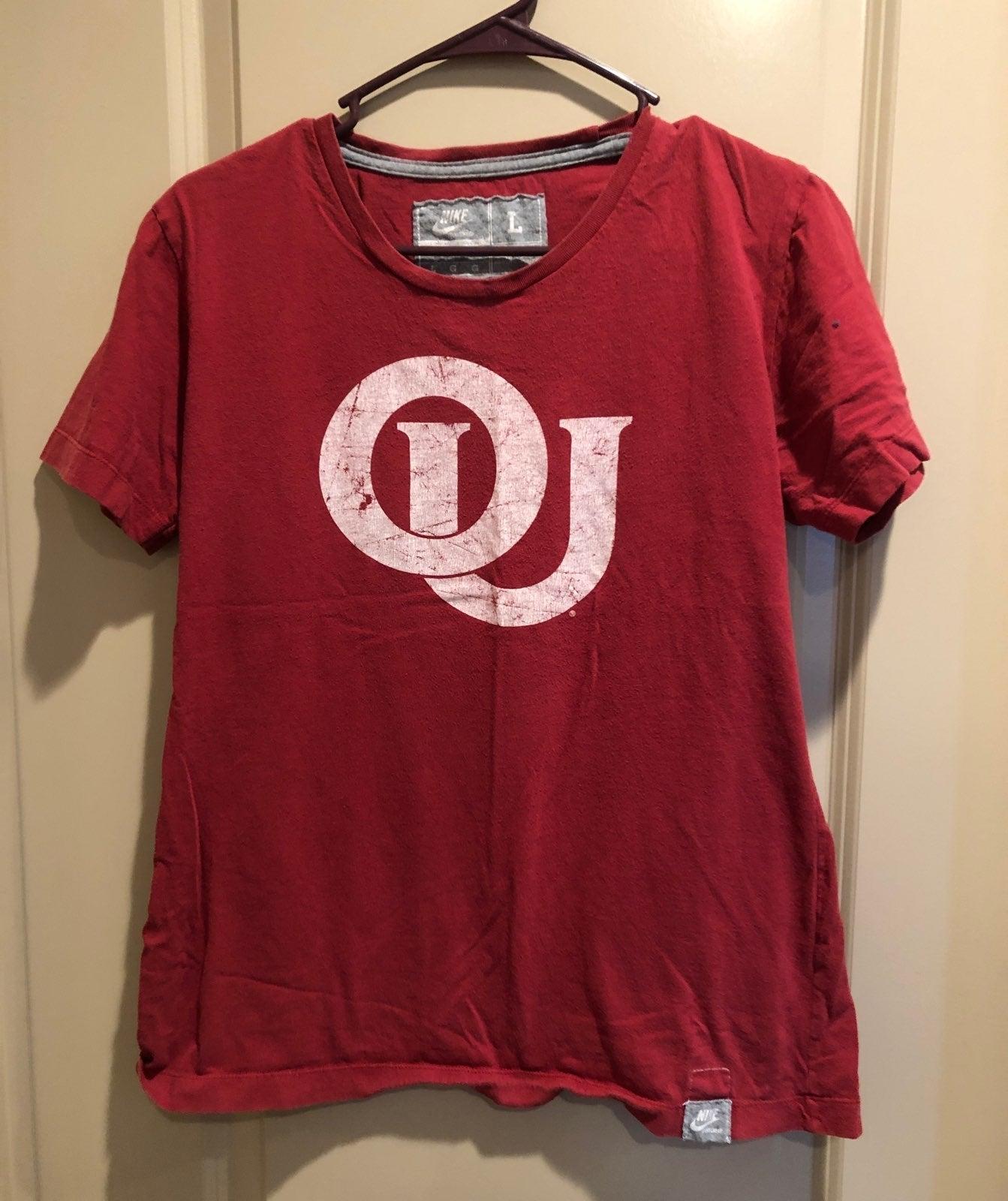 Vintage Nike Youth Oklahoma T Shirt