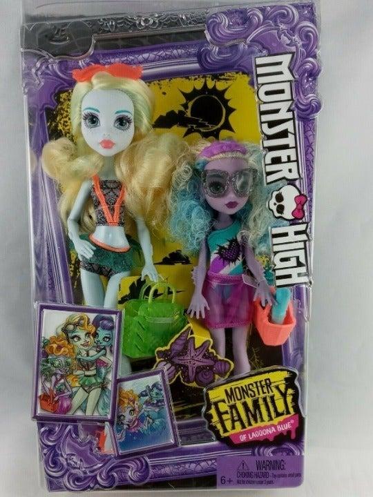 Monster High Monster Family Of Lagoona B