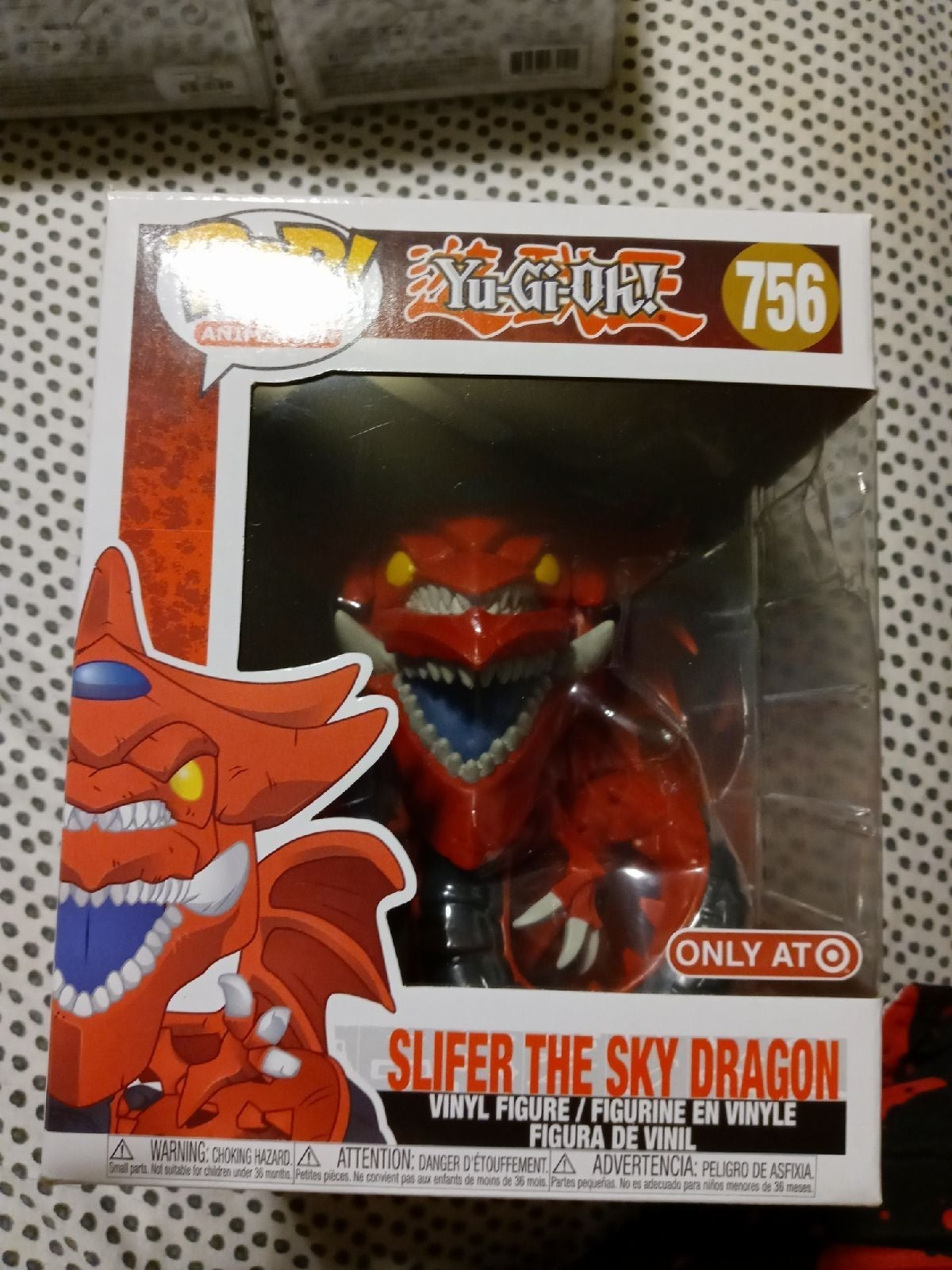 Slifer the Sky Dragon Funko pop