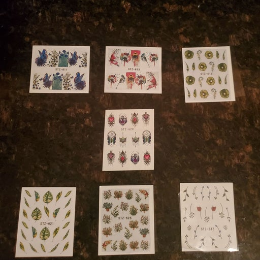 Nail Decal Sticker Accessories