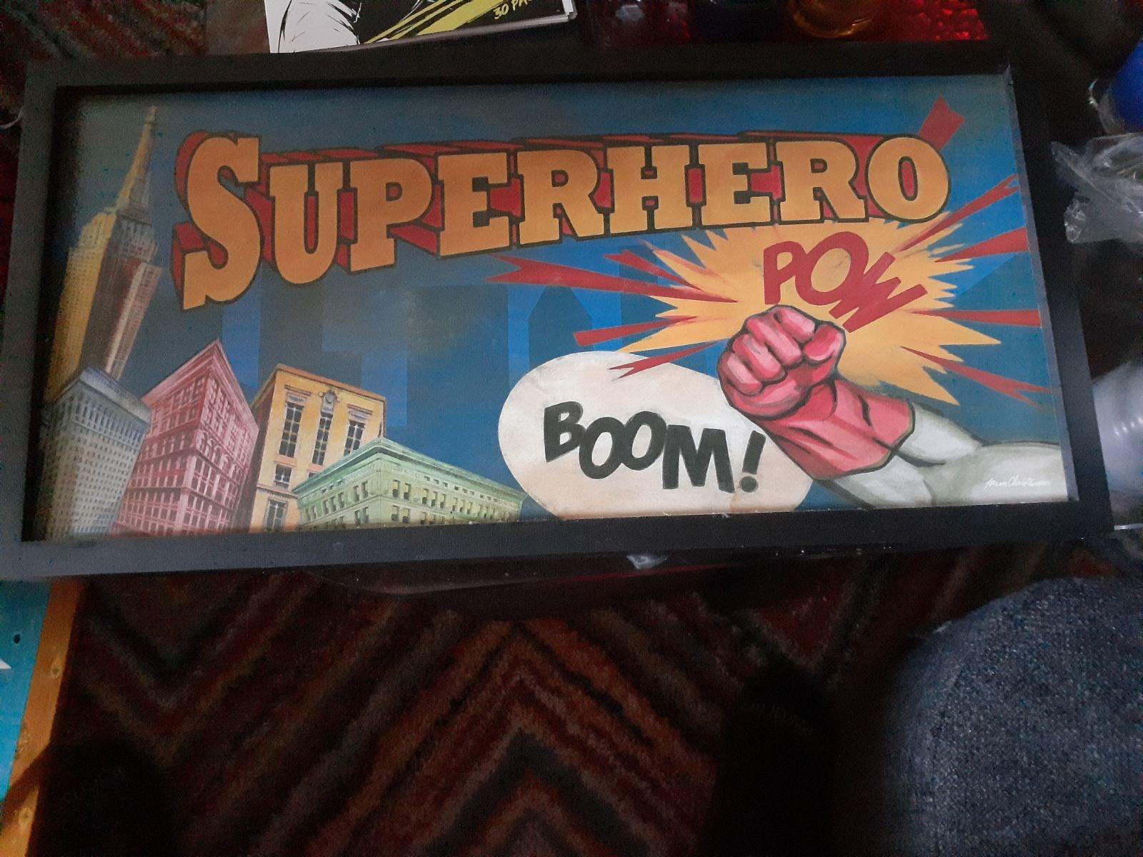 SUPER HERO POW BOOM PICTURE