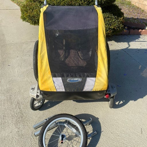 Chariot cougar double bike trailer