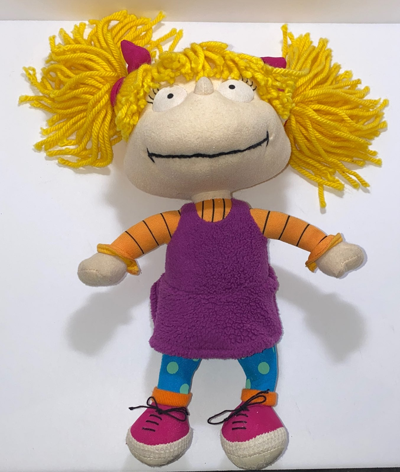 Angelica Pickles Rugrats Plush Toy 2000