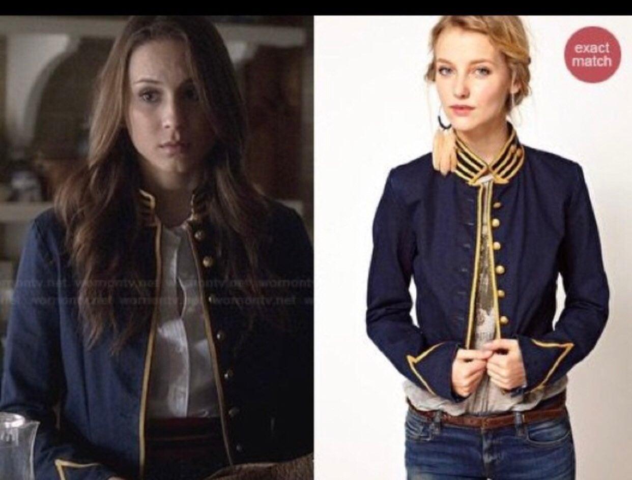 Ralph Lauren blue military jacket size M