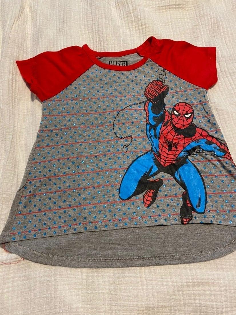 Girls Spiderman shirt