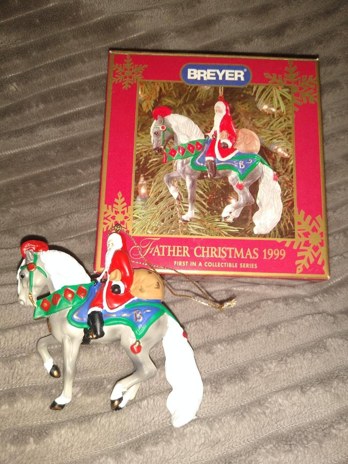 Vintage Breyer Father Christmas 1999