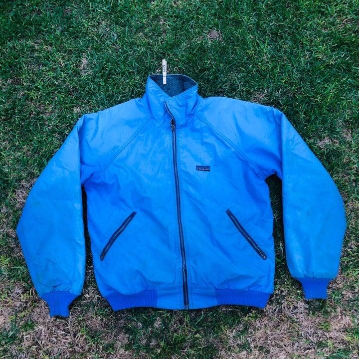 Vintage Patagonia Teal Zip Up Fleece LIn