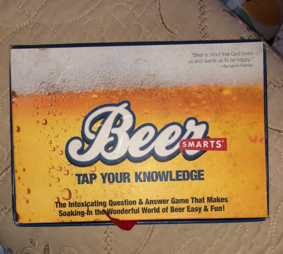 Beer Smarts Party Game