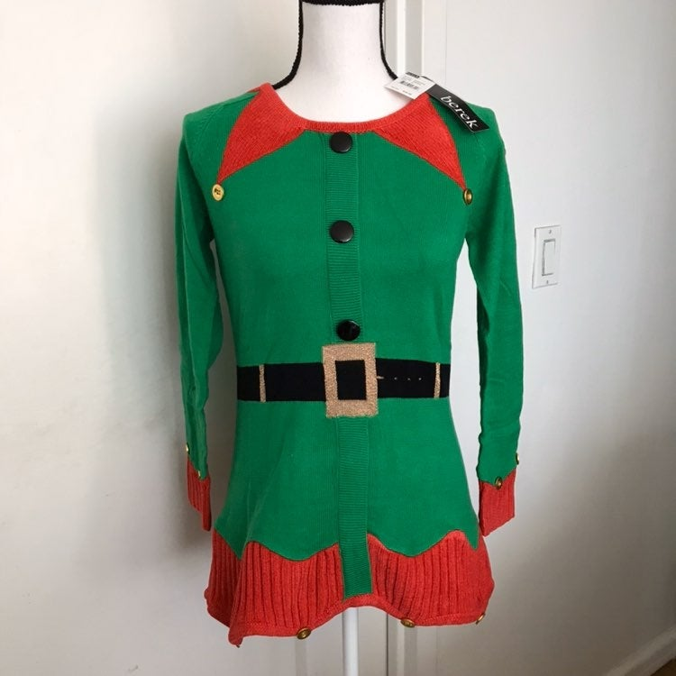 Berek Santa's Christmas Sweater Size S