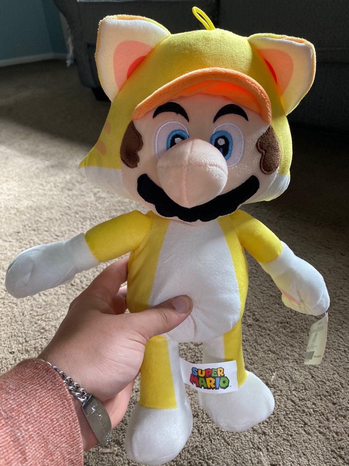 Luigi Cat Plush