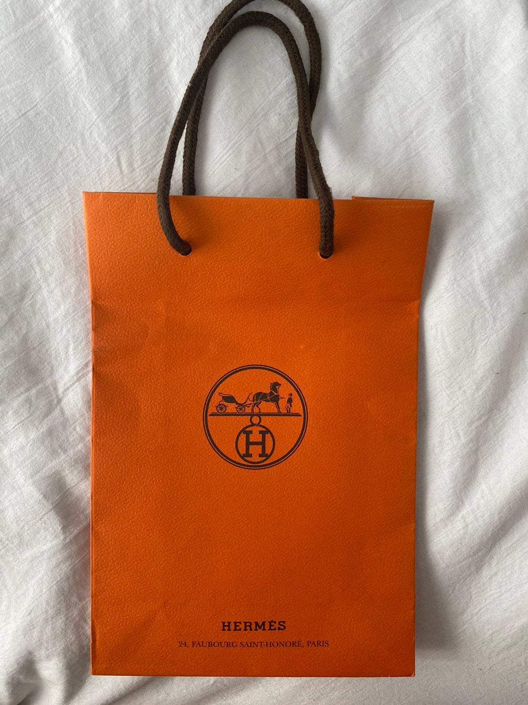 Hermes small gift bag