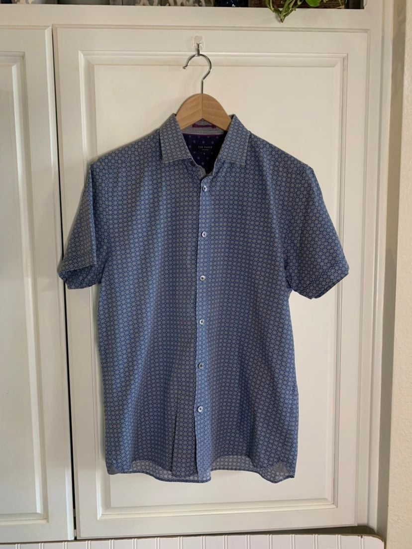 Ted Baker Men's Dress Shirt Size 3/M