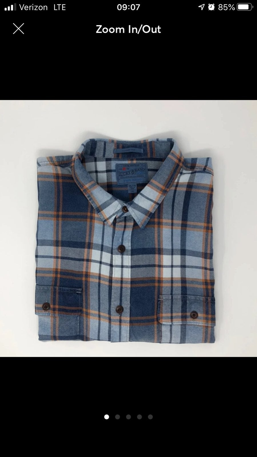 Lucky Brand Button Down Shirt