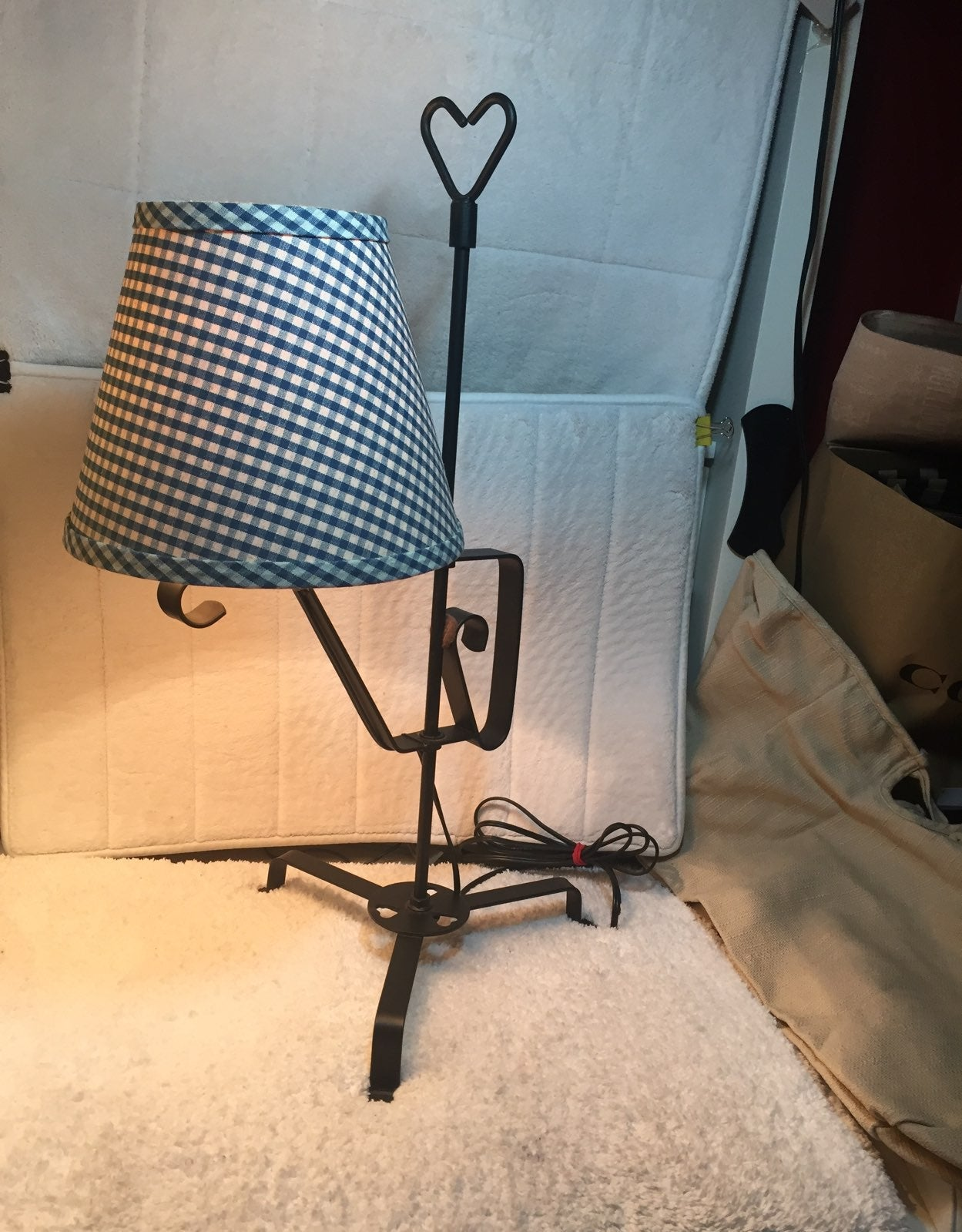 Wrought Iron Table Lamp