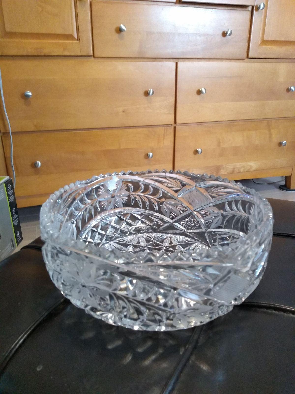 Crystal bowl new